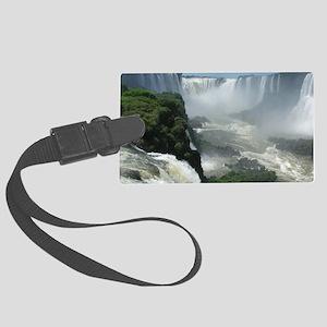 Iguazu falls 3 Large Luggage Tag
