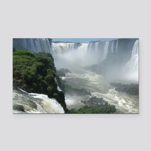 Iguazu falls 3 Rectangle Car Magnet