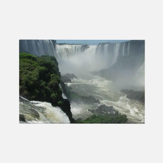 Iguazu falls 3 Rectangle Magnet