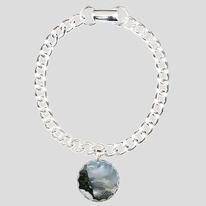 Iguazu falls 3 Charm Bracelet, One Charm