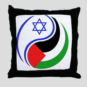 Infinite Peace Throw Pillow