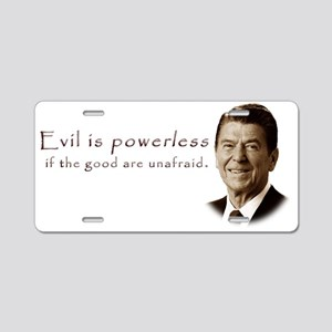 Ronald Reagan Q1 Aluminum License Plate