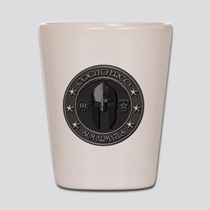 I THINK, THEREFORE I AM ARMED Shot Glass