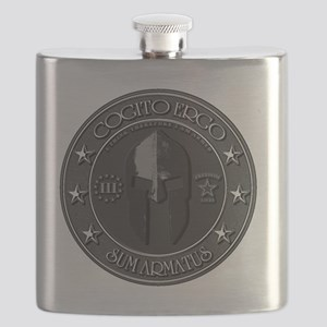 I THINK, THEREFORE I AM ARMED Flask