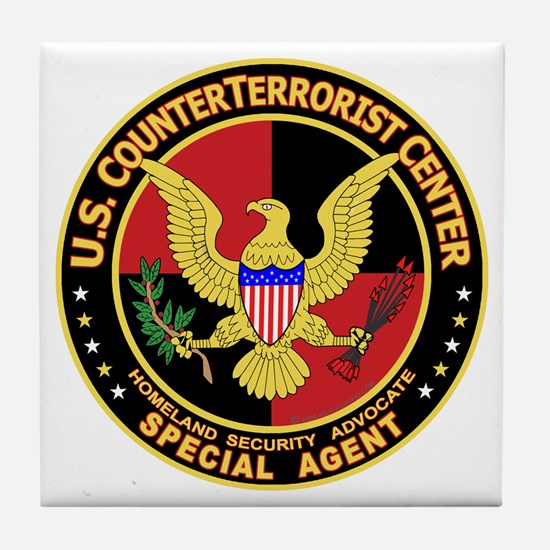 U.S. Counter Terrorist Center Tile Coaster