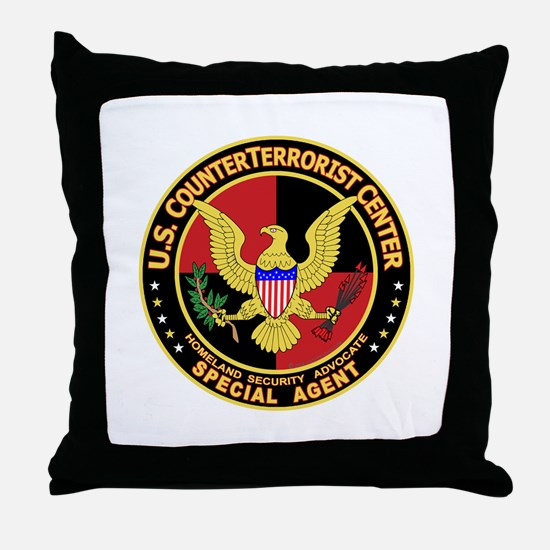 U.S. Counter Terrorist Center Throw Pillow