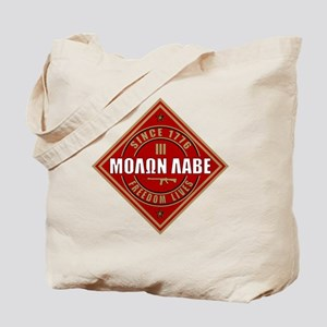 Come and Take It (Red and Gold Diamond) Tote Bag