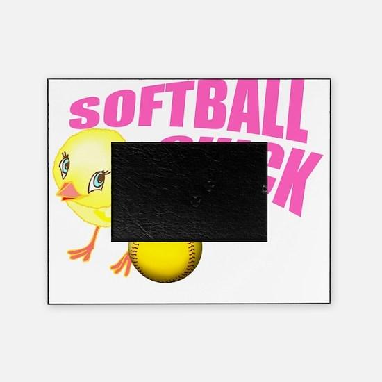 SoftballChick copy Picture Frame