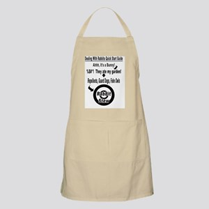 Dealing With Rabbits Quick Start Guide Apron