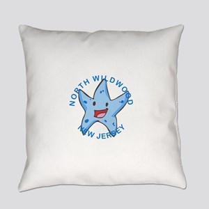 New Jersey - North Wildwood Everyday Pillow