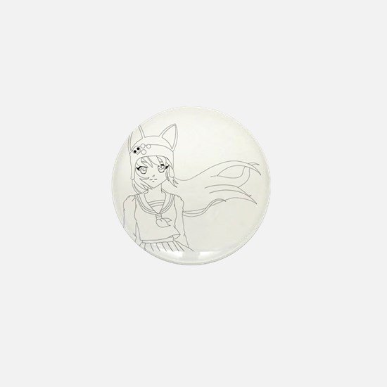 Line Art Yuma Mini Button