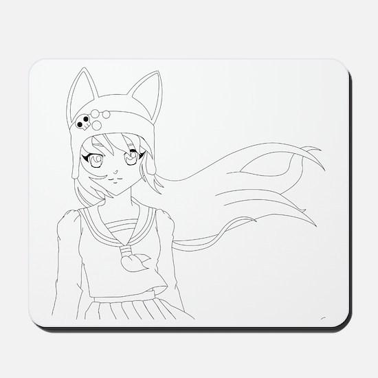 Line Art Yuma Mousepad