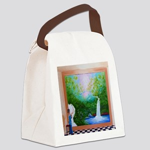 The Artist Shower Curtain Canvas Lunch Bag