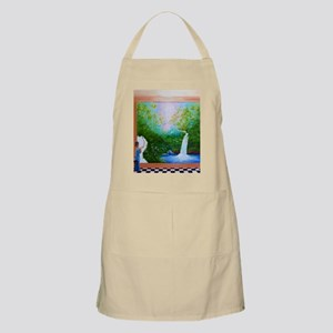 The Artist Shower Curtain Apron
