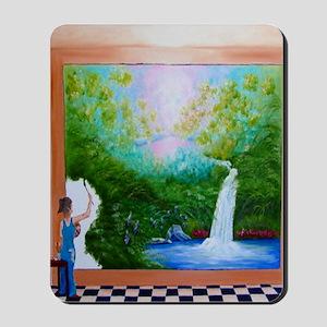 The Artist Shower Curtain Mousepad