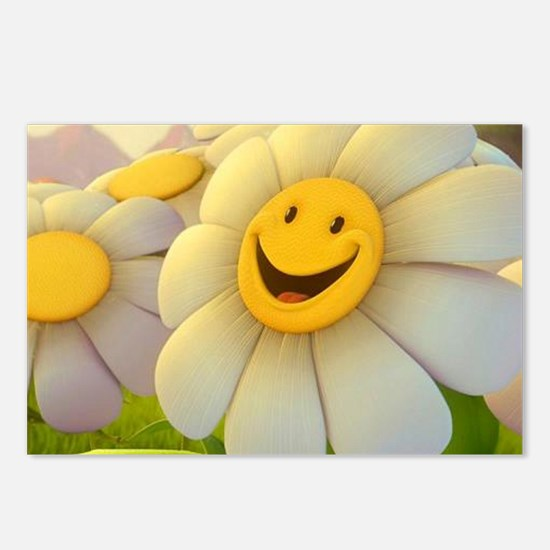 Smiling Daisy Postcards (Package of 8)