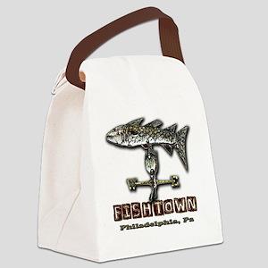 Philadelphia Fishtown Souvenir Gi Canvas Lunch Bag