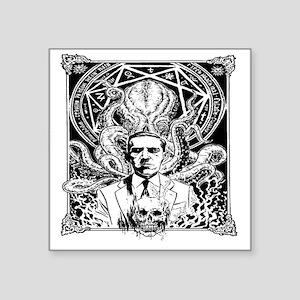 """Lovecraft Square Sticker 3"""" x 3"""""""