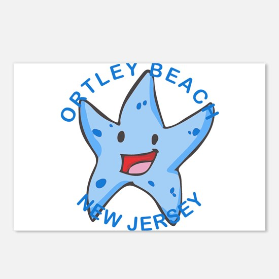 New Jersey - Ortley Beach Postcards (Package of 8)