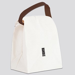 In Case Of Emergency Pull Canvas Lunch Bag