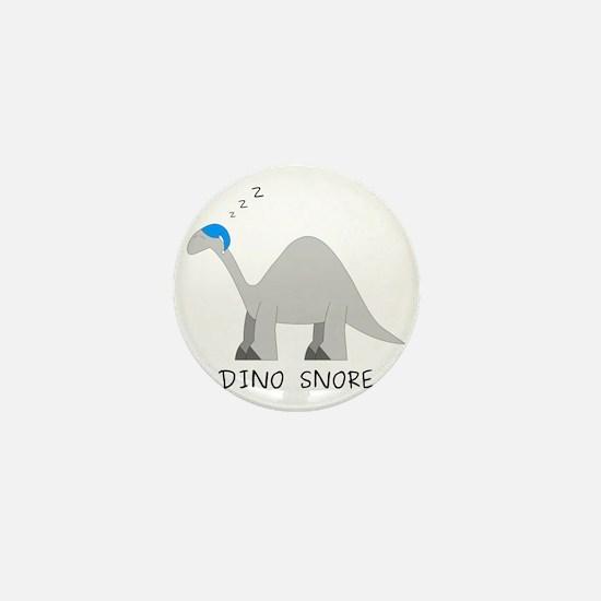 Dino Snore Mini Button
