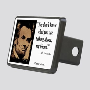 You Dont Know Rectangular Hitch Cover