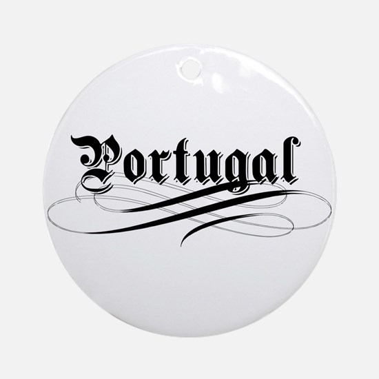 Portugal Gothic Ornament (Round)