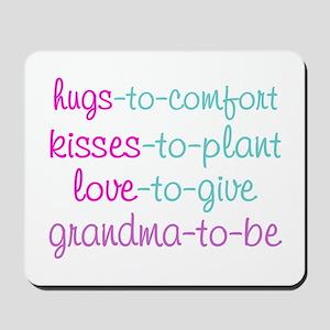 grandma to be Mousepad