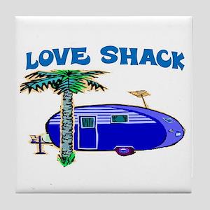 LOVE SHACK Tile Coaster