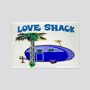 LOVE SHACK Rectangle Magnet