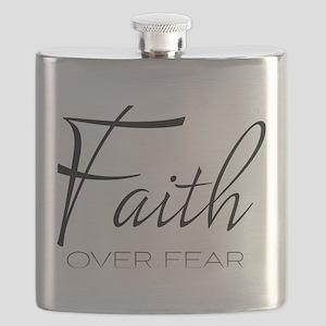 Faith over Fear Flask