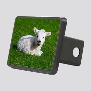 Baby lamb Rectangular Hitch Cover