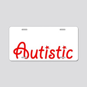 Dont Hate me Because Im Aut Aluminum License Plate