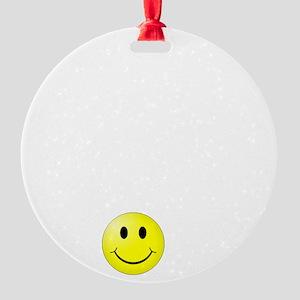 Customer Service Joke Round Ornament