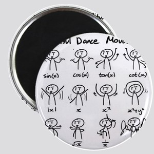 Beautiful (math) dance moves Magnet