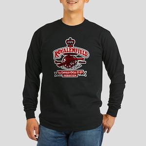 enfield Long Sleeve Dark T-Shirt