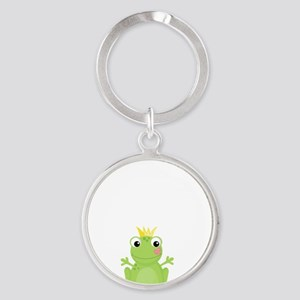 Princess Frog Round Keychain