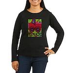 Truck Women's Long Sleeve Dark T-Shirt