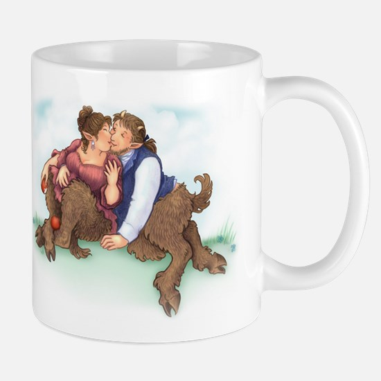Satyrs and Apples - Mug