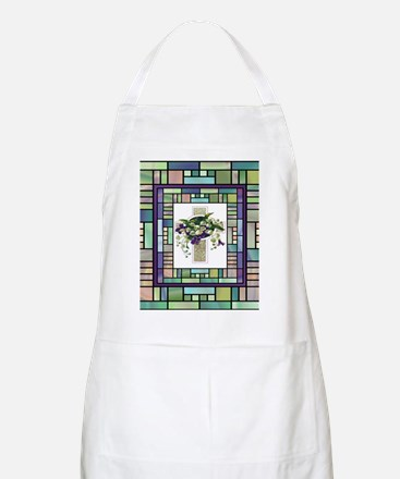 Stained Glass Cross Apron