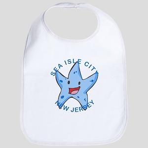 New Jersey - Sea Isle City Baby Bib