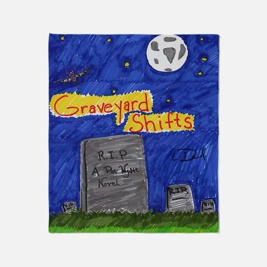 Graveyard Shifts Throw Blanket
