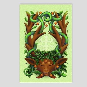 Greenman Herne - Postcards (Package of 8)