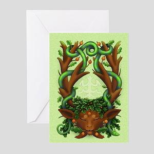 Greenman Herne - Greeting Cards (Pk of 10)