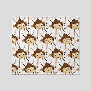 Monkeys Throw Blanket