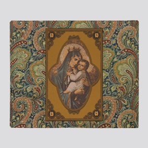 Queen of Heaven Throw Blanket