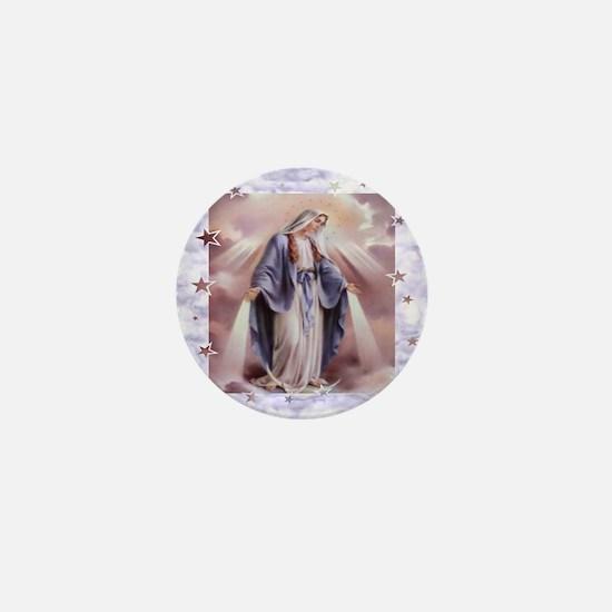 Ave Maria Mini Button