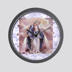 Ave Maria Wall Clock