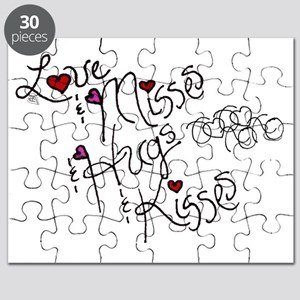 Love & Misses & Hugs & Kisses Puzzle