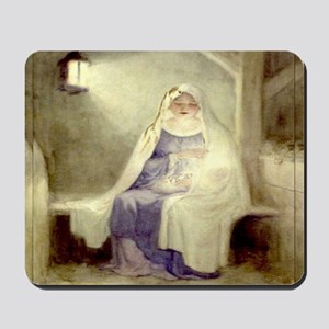 Blessed Nativity Mousepad
